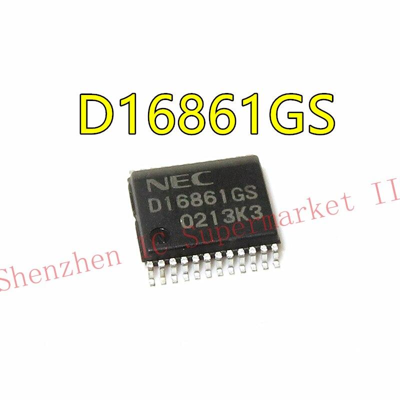 1PCS D16861GS SSOP24 D16861 SSOP 16861GS SSOP-24 SMD SOP SMD