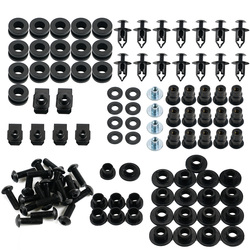 Motorcycle Fairing Bolt Kit Screws for Honda CBR600RR CBR 600RR 600 RR 2005 2006 Alloy Black Complete Nut Set CBR600 RR