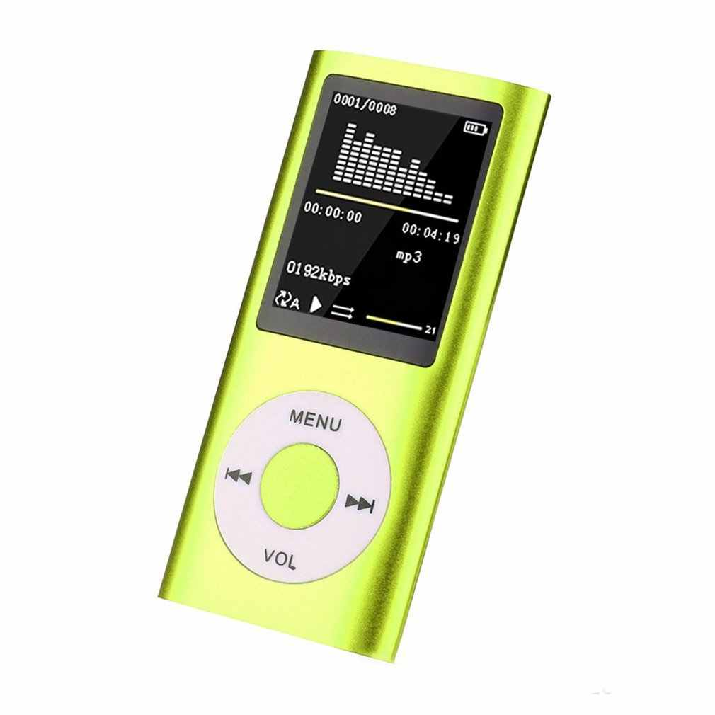 Mp4 1.8 Hd Video Card Mp4 Mp3 Walkman Player Support Multi-Language Recording E-Book Portable Walkman