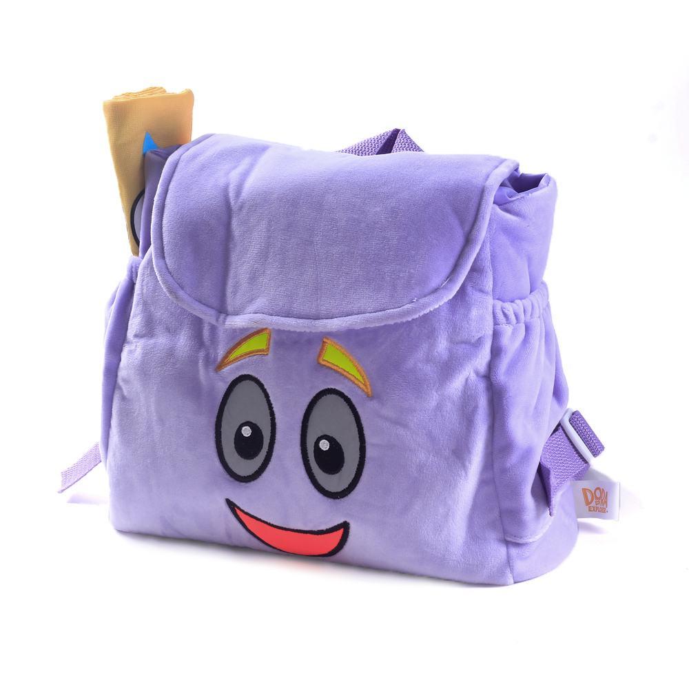 Dora The Explorer Soft Plush Doll Backpack Stuffed Rescue Bag With Map