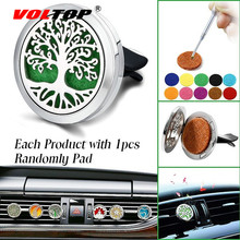 Life Tree Car Diffuser Air Vent Air Freshener Car Accessories for Girls Perfume Clip Diffuser Fragrance Can Add Essential Oil