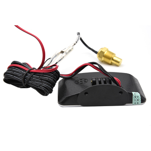 Image 3 - 12V/24V Car LCD Water Temperature Meter Thermometer Voltmeter Gauge 2 in 1 Temp & Voltage Meter 10mm Water Temp Sensor motor
