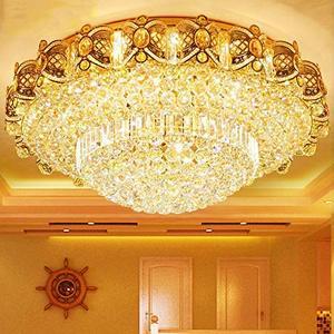 Modern K9 Crystal Gold Chandel