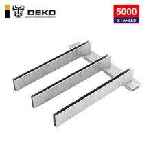 5000Pcs U/T Shaped Staples Nails for Staple Gun Stapler,Applied to DKET01/02 of DEKO