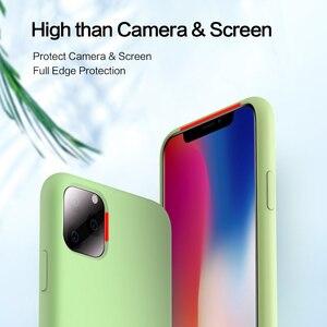 Image 3 - SmartDevil מוצק צבע סיליקון טלפון מקרה עבור Iphone 11 פרו מקסימום 7 8 בתוספת XR X XS מקס זוגות חמוד צבעים בוהקים רך פשוט מקרי