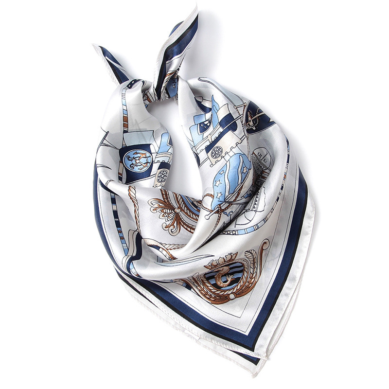Limited Promo  Women's handkerchief top grade Oriental silk small square scarf silk printed handkerchief for women