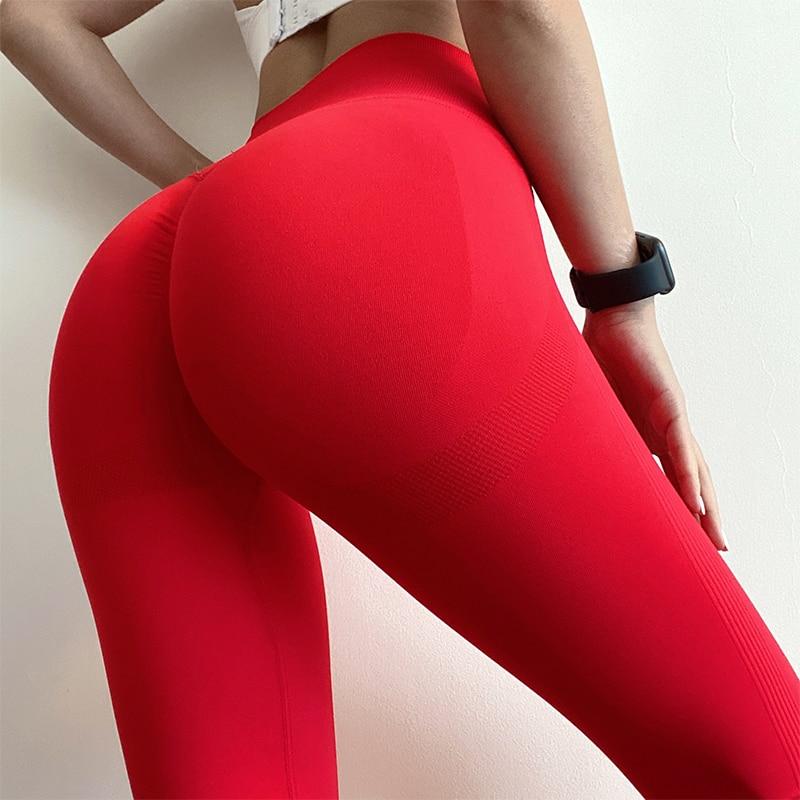 Womens Workouts Bubble-But Leggings