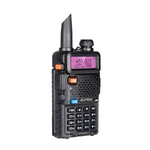 Image 4 - Baofeng UV 5R Walkie Talkie taşınabilir CB radyo istasyonu çift bant UHF VHF av jambon radyo 5W HF telsiz UV5R iki yönlü telsiz