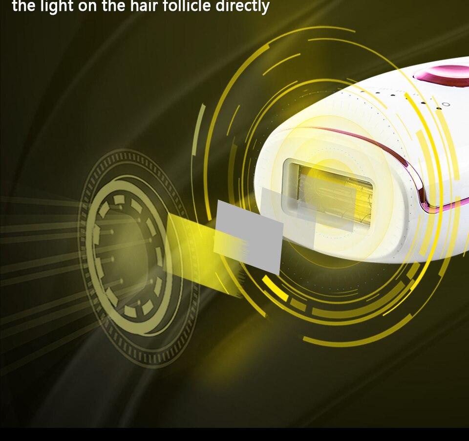 laser fotodepilação casa facial luz pulsada profissional