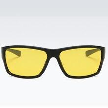 TR90 Sports Polarized Night Vision Glasses For Driving Minus Myopia Sunglasses Custom Made Prescription -1 To -6