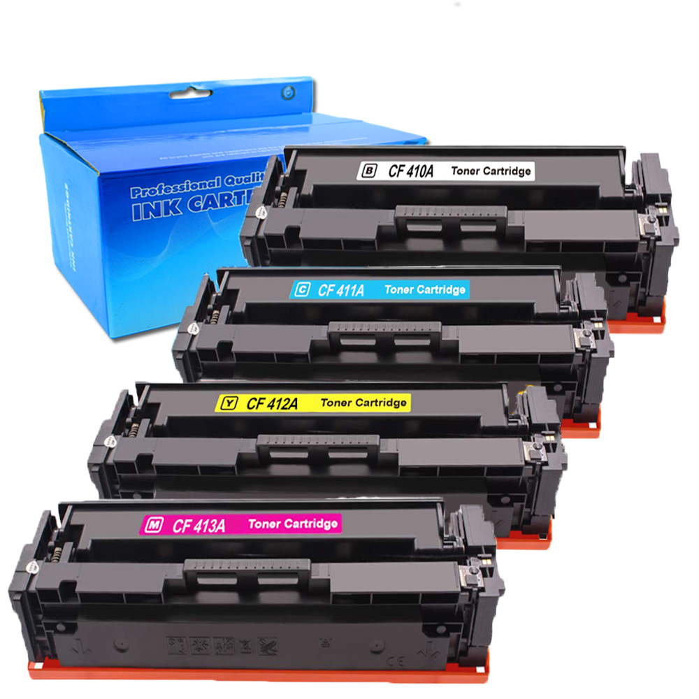 CF410A 410A Toner Cartridge For HP Color LaserJet Pro MFP M452dw M452nw M477fdw
