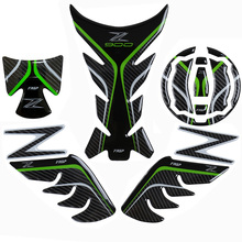FASP z900 genuine carbon fiber sticker set for kawasaki motorcycle sports car