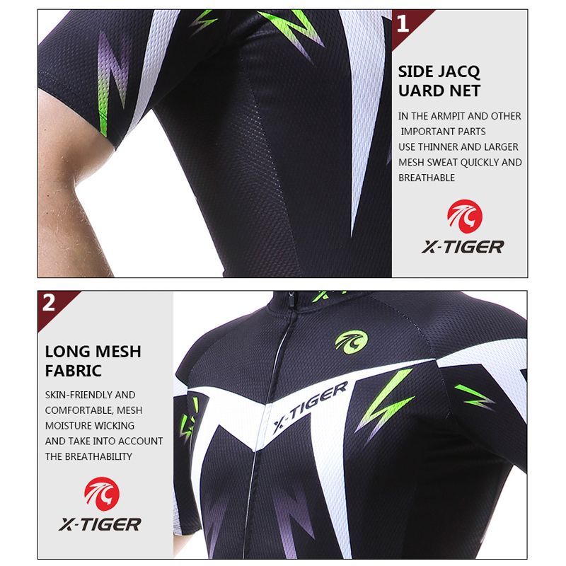 Image 4 - X TIGER Cycling Jersey Man Mountain Bike Clothing Quick Dry Racing MTB Bicycle Clothes Uniform Breathale Cycling Clothing Wearbicycle clothesmountain bike jerseybike jersey -