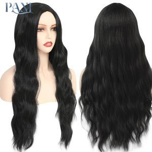 Pani onda de água longa peruca 24 polegada perucas sintéticas macias para mulheres cabelo natural para uso feminino cosplay festa diária