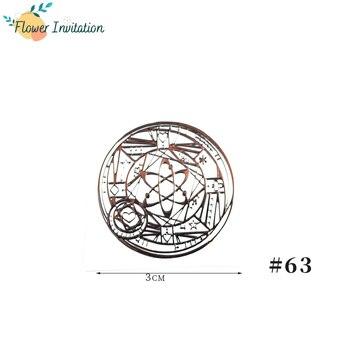 Energía orgonita pegatina Chakra resina epoxi joyería flor de la vida energía Torre materiales pirámide Metal energía Copper1