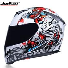 Rosto cheio capacete da motocicleta dupla lente elegante liberação rápida corrida com forro lavável capacete casco moto dot aprovado