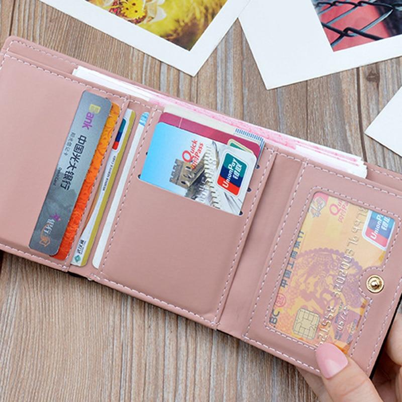 Carteira da mulher nova moda feminina carteiras