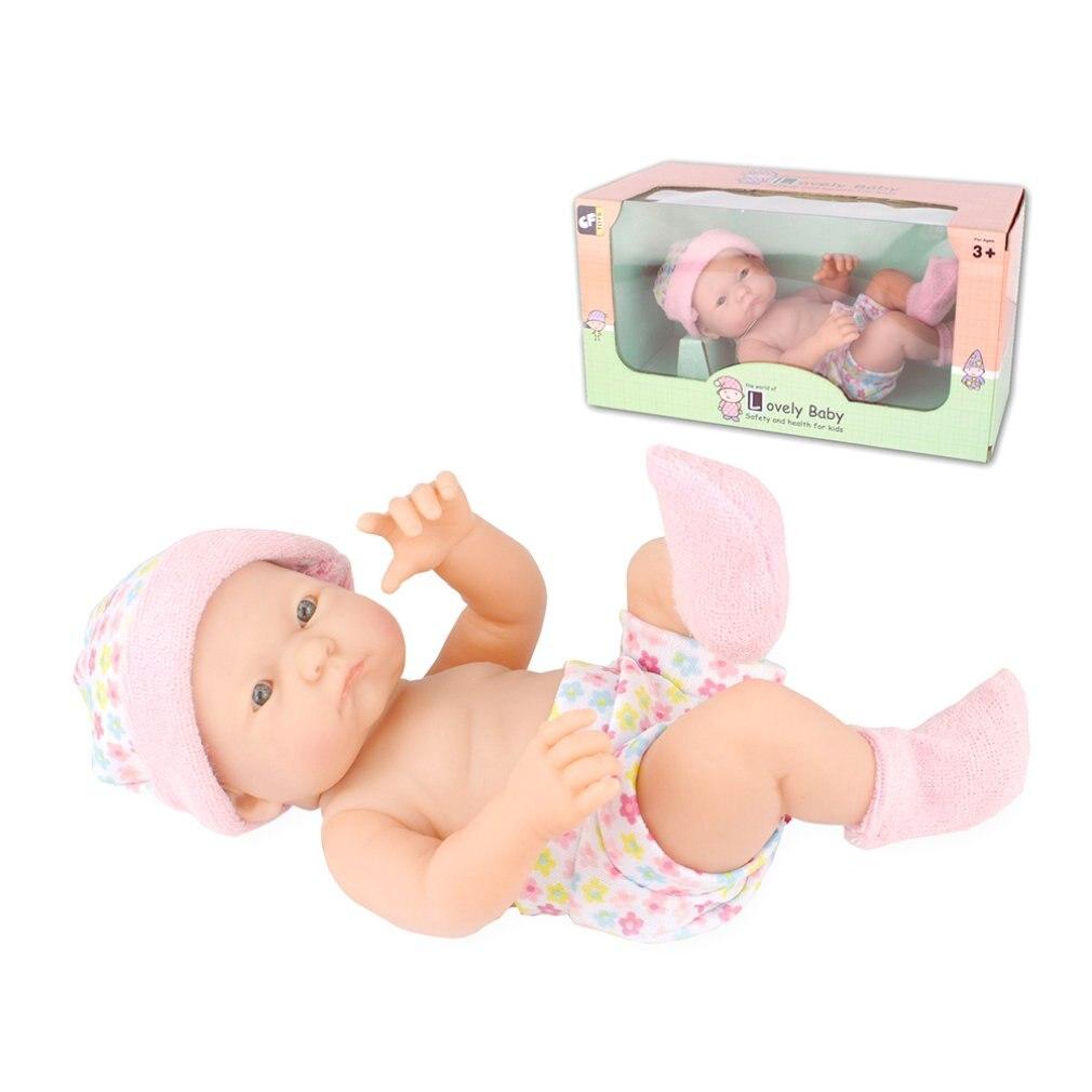 9.5 polegada realista renascer bonecas do bebê vivo diversão brinquedos educativos presente de aniversário bonecas para crianças brinquedos do bebê boneca