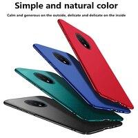 Coque de téléphone PC Ultra-mince magnétique Matte, étui de Protection de luxe pour Oneplus 8 7T 7 Pro 6T 6 5 t5