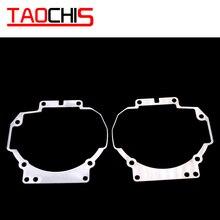 Taochis estilo do carro moldura adaptador hella 3r 3 lente do projetor retrofit para toyota camry v40 2006 2009