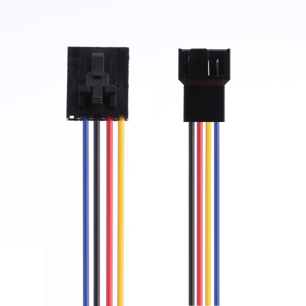 5Pin гнездо к 4Pin папа Вентилятор охлаждения разъем адаптер конвертер удлинитель кабель провода шнур для Dell ПК ноутбука