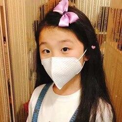 Máscara desechable para niños de 30 Uds., máscaras protectoras contra el polvo, protección contra la gripe contra partículas de polvo 95%