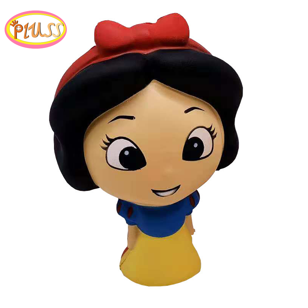 Jumbo Kawaii Princess Squishy Slow Rising Snow White Sweet Scented Squeeze Toys Soft Stress Relief Fun Gift Toy For Children