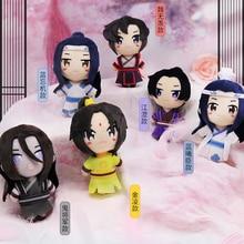 Anime Mo Dao Zu Shi Cosplay The Untamed Wei Wuxian Lan Wangji Cosplay Jiang Cheng Plush Doll Toy Keychain Pendant Gifts CS267
