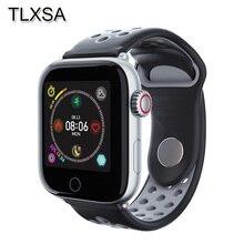 男性スポーツフィットネストラッカースマート腕時計血圧 IP68 防水スマートウォッチ Apple の IOS Android 携帯レロジオ Inteligente