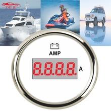 For Car Marine Boat 52mm 9 32vdc 0 150A Digital Amperemeter Tuning Lcd AMP Gauge W/ Current Shunt Pick up Amperemeters