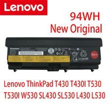 Новый оригинальный аккумулятор для ноутбука Lenovo ThinkPad T430 T430I T530 T530I W530 SL430 SL530 L430 L530 45N1007 45N1006 45N1011