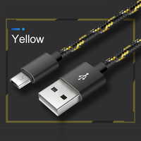 cable samsung Fashion Aluminum Alloy 2A Phone Charging Cable Nylon Braided Data Cable For Samsung Huawei Xiaomi Android Phone Accessories (4)