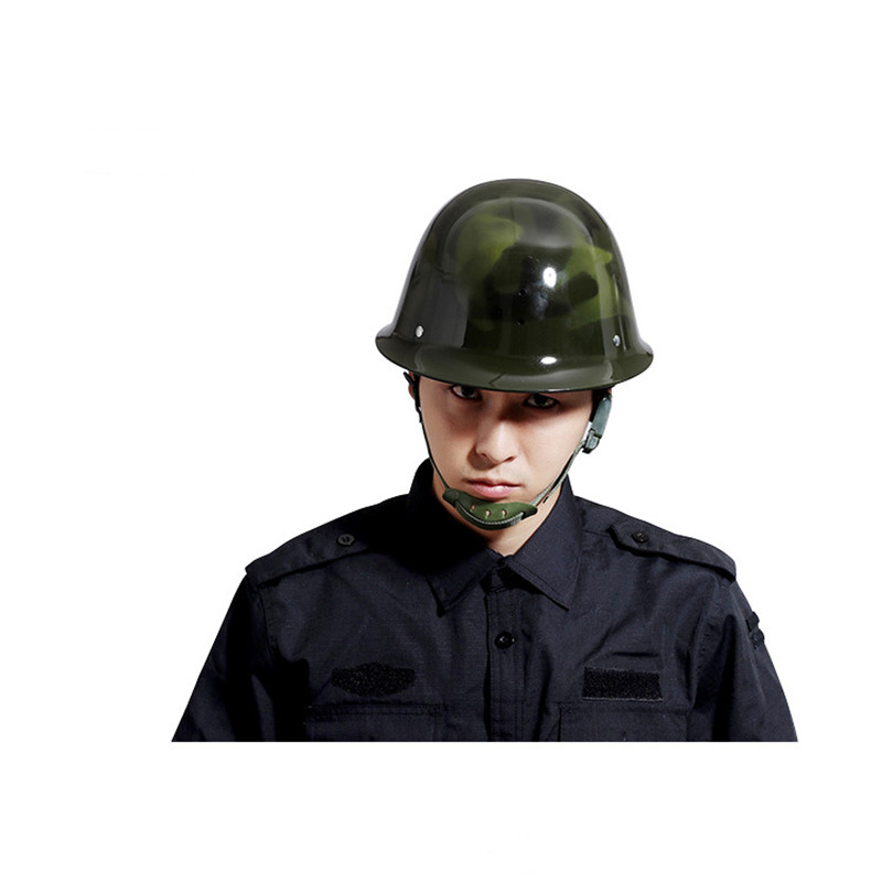 Riot Helmet Outdoor Tactical Personnel Fiberglass Material 57-61CM Adjustable Man 3 Color Head Safety Protection Riot Helmet