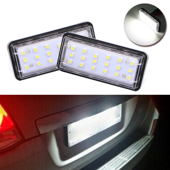 LED License Plate Light Lamp For Toyota J100 J120 J200 Land Cruiser Prado Low Power Consumption High Efficiency image