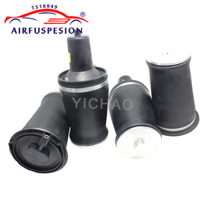 Image 2 - Free shipping 4pcs Gen II front rear Air Spring Bag for Range Rover P38A P38 Air Ride Suspension Springs REB000550 RKB101460