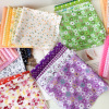 25x25cm  Cotton Fabric Printed Cloth Sewing Quilting Fabrics for Patchwork Needlework DIY Handmade Accessories 1