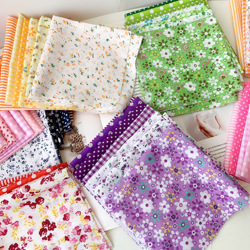 25x25cm  Cotton Fabric Printed Cloth Sewing Quilting Fabrics for Patchwork Needlework DIY Handmade Accessories
