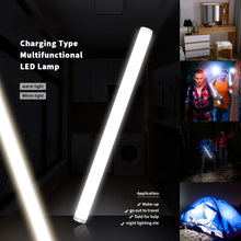 4 Modes Touching Switch Led Light Lamp Rechargeable LED Bar Lights DC 5V Led Strip Light USB Charging Outdoor Camping Light