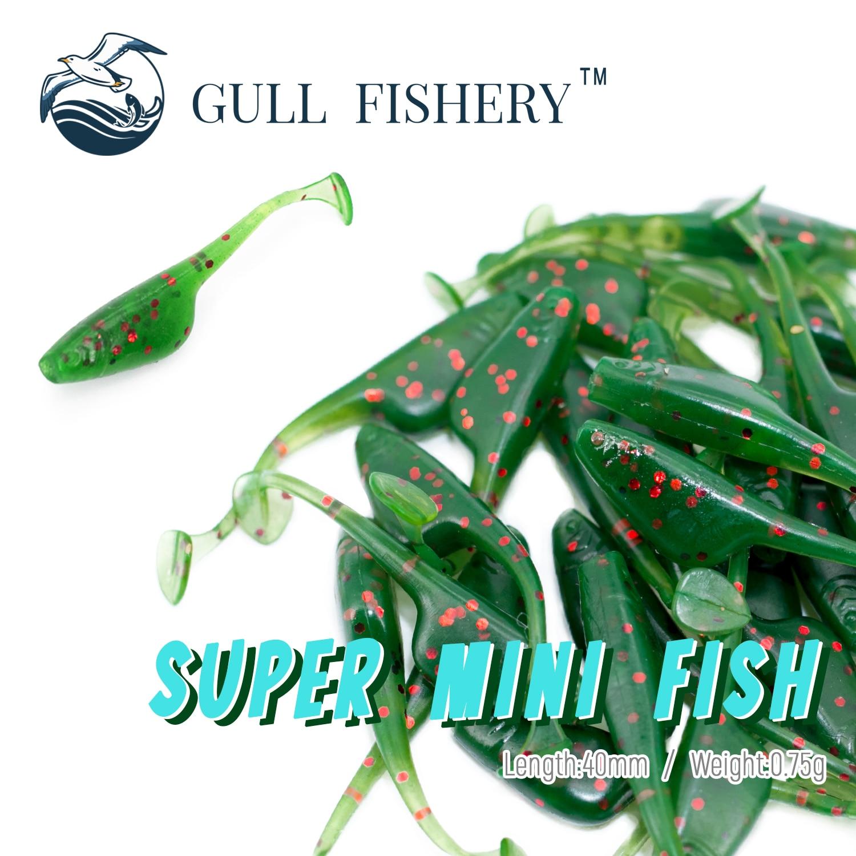 Gaivota pesca 2021 isco macio vermes de pesca larvas 40mm aritificial wobbler natação silicone baixo isca para jerking pesca enfrentar