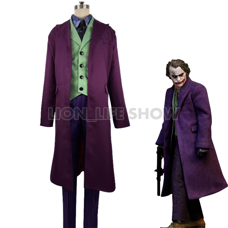 Toys Are Discounted Heath Ledger Joker Costume In Toy World