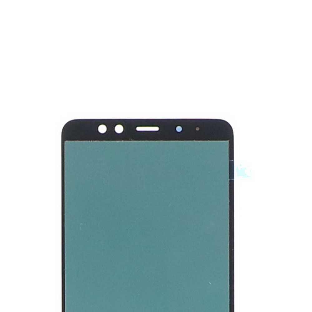 سوبر AMOLED لسامسونج غالاكسي A8 + A8 زائد 2018 A730 SM-A730F شاشة إل سي دي باللمس شاشة قطع غيار محول رقمي مشرق تعديل