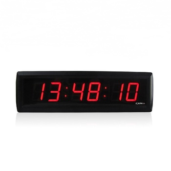 Ganxin 1.8 inch 6 digits countdown wall clock with remote control