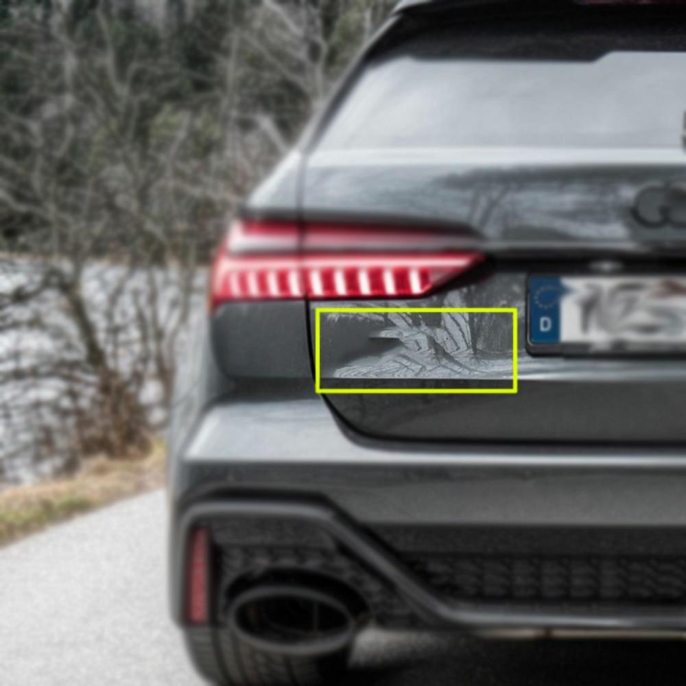 New Rear Black Car Sticker 3D ABS Decal Badge Emblem Logo For Audi Q3 Q5 Q7 A3 A5 SQ3 SQ5 SQ7 RSQ3 RSQ5 RSQ7 Car Accessories