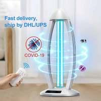 UVC UV Lamp Ultraviolet Ozone Germicidal Light15W 38W 40W 220V 110V Bactericidal Quartz Lamp Bacterium Mite Killer Home Bathroom