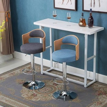 Modern Simple Coffee Shop Milk Tea Bar Chair Household Dance Hall Front Desk High Stool national music museum chair western musical instrument stool free shipping villa garden coffee table desk retail wholesale