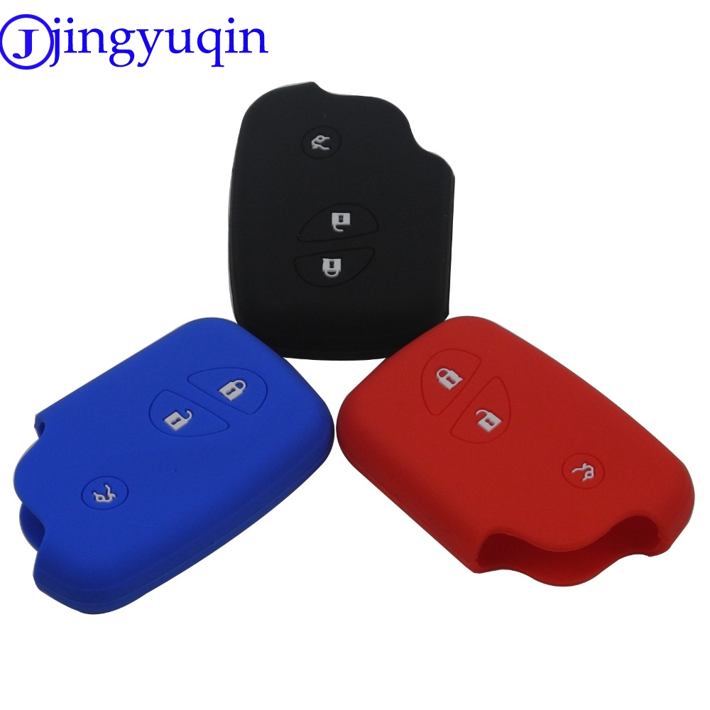 New Remote 3B Silicone Smart Car <font><b>Key</b></font> Fob Cover Case For <font><b>Lexus</b></font> CT200h ES 300h IS250 GX400 RX270 RX450h <font><b>RX350</b></font> LX570 Holder Case image
