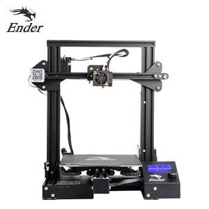 Image 4 - Crealité 3D Ender 3/Ender 3 Pro 2020 plus récent Ender 3 V2 3D imprimante Kit MK 10 extrudeuse avec cv impression 220*220*250mm taille