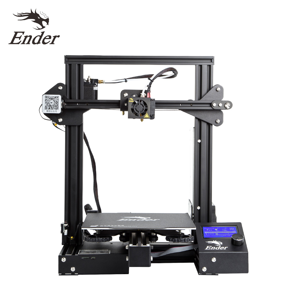 Image 4 - Creality 3D Ender 3/Ender 3 Pro High Precision 3D Printer Kit MK 10 Extruder with Resume Printing 220*220*250mm Printing Size-in 3D Printers from Computer & Office