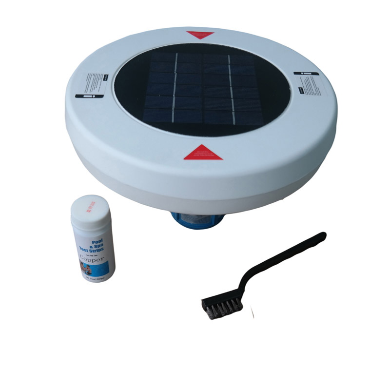Save On Pool Chemicals With Solar Pool Ioniser Algae Killer Water Purifier Cleaner  Saves $$$