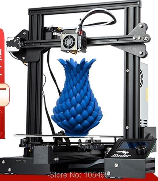 2019 New 3D Printer A5 Updated 3D Printing Machine Extreme High Accuracy Machine Large Build Size I3 DIY Kit FDM Printer